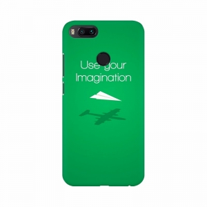 Green background with thoughts Mobile Case Cover