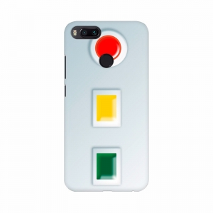 Signal Button Red, Orange and Green Mobile Case Cover