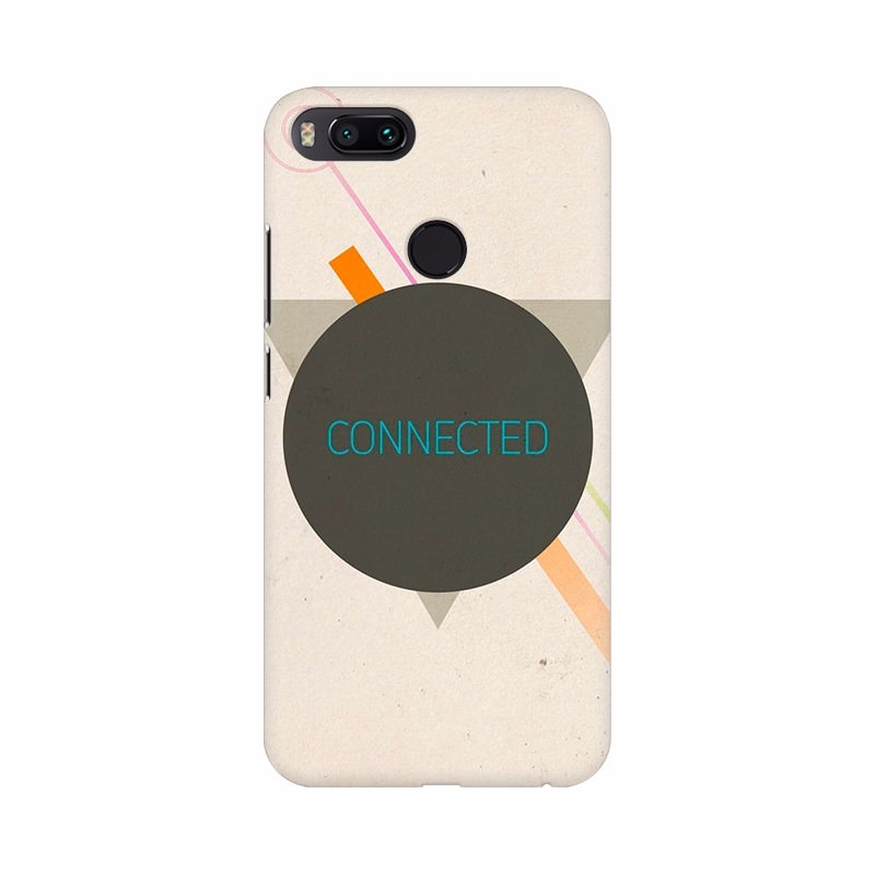 Connected Logo Mobile Case Cover