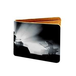 Music Gitarist Design Blac and white Canvas, Artificial Leather Wallet