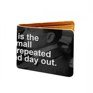 Success Is The Sum Of Small Efforts- Repeated Day In And Day Out Design Black Canvas, Artificial Leather Wallet