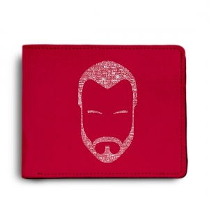 I Am A Cm Punk Guy Design Red Canvas, Artificial Leather Wallet