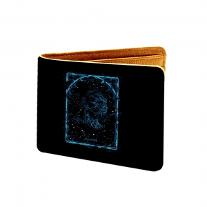 Game Of Thrones Design Black and Red Canvas, Artificial Leather Wallet