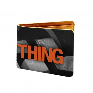 Winnings Is Everything Design Multi color Canvas, Artificial Leather Wallet
