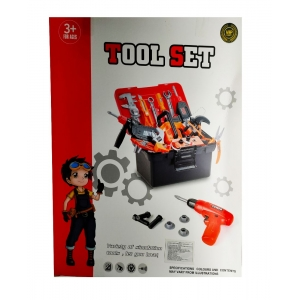 Power Tool Set with Gun for 3yrs+
