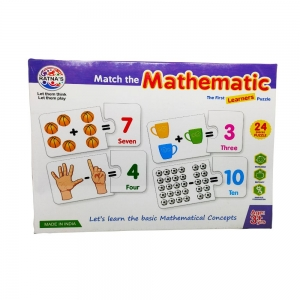 MATCH THE MATHEMATIC JIGSAW FOR KIDS-24 Pieces