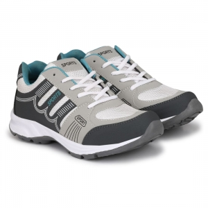 Generic Men Grey,Off White,Blue Color Mesh Material  Casual Sports Shoes