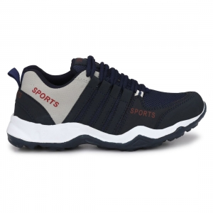 Generic Men Navy,Blue,Black,Grey Color Mesh Material  Casual Sports Shoes