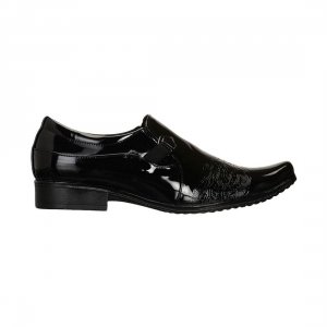 Generic Men Black Color Synthetic Material  Casual Formal Shoes