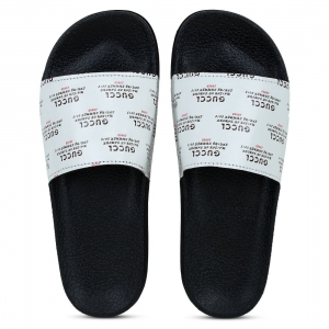 Generic Women White Color Synthetic Material  Casual Sliders