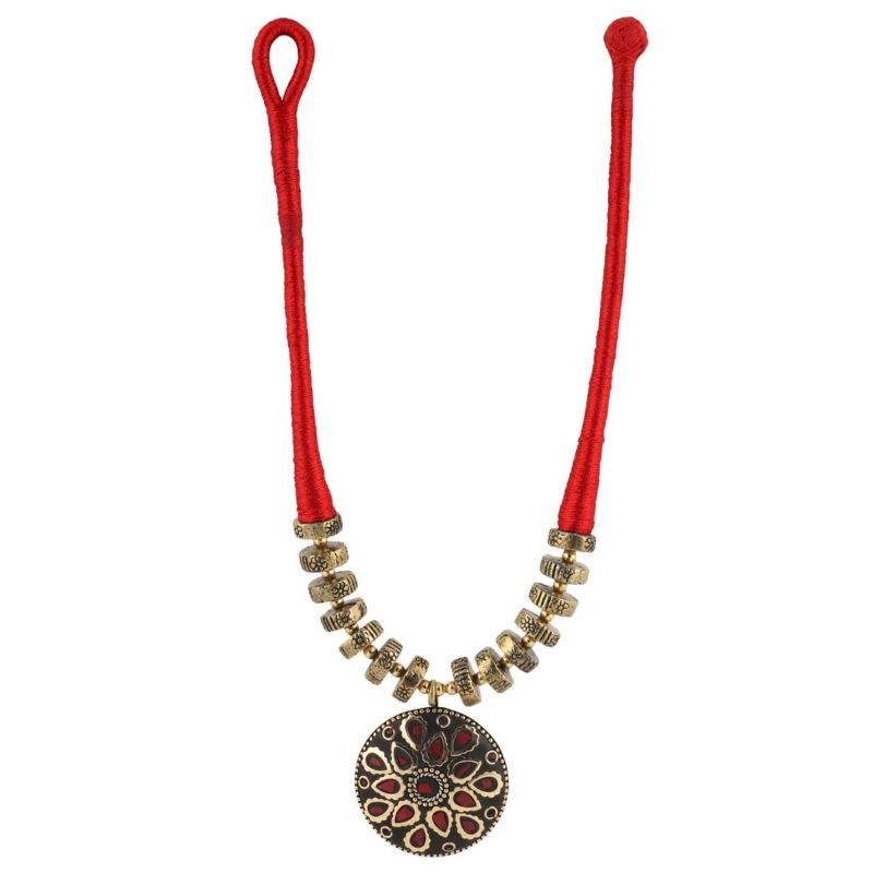 Fashion Jewellery Collection Rajasthani Office wear Beads Necklace