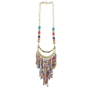 High Finished Designer Hanging Party Wear Beads Necklace