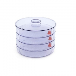 Generic Plastic 4 Compartment Sprout Maker, White