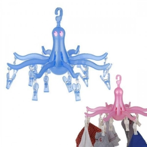 Generic 16 Clothes Pegs Clips Octopus Hanging  Drying Racks 8-Claw Dryer