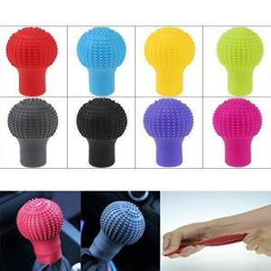 Generic Anti-Scratch Universal Fit Silicon Gear Shift Knob Protective Cover