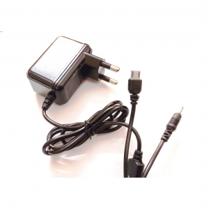 Generic 2 In 1 Charger N70 &V8 Pin-Black