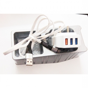 Generic Brand Amac Charger CH-18 6.2 A 3USB-Assorted