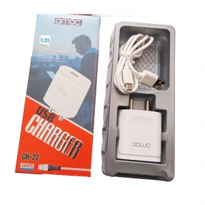 Generic Brand Amac 1.2Amp Brand : CH-22 (USB Charger)-White