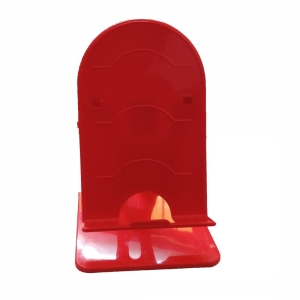 Generic Brand Table Phone Stand for Smart Phones-Red