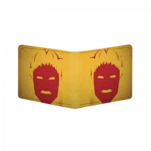 Generic Daredevil Design Yellow Canvas, Artificial Leather Wallet
