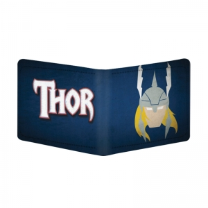 Generic Thor Design Multi Color Canvas, Artificial Leather Wallet