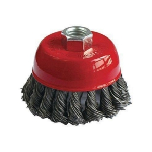 Generic Pack of 2_Wire Wheel Cup Brush(Black) (Color: Assorted)