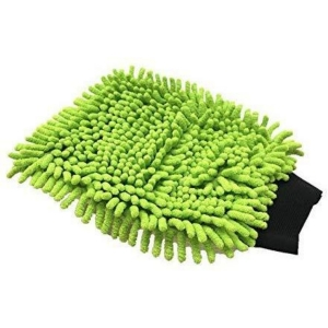 Generic Pack of 2_Single sided microfiber hand glove duster (Color: Assorted)