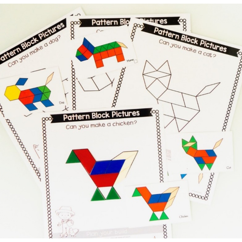 Animals Pattern Kit (9X12 Inches)