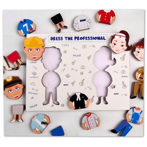 Dress The Professional (12X10 Inches)
