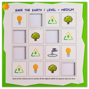 Save The Earth Medium (10X10 Inches)