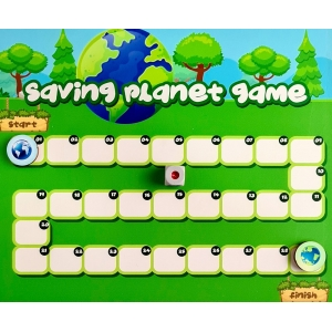 Saving Planet Board Game (10X10 Inches)