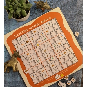 Countries Sudoku Combo (10X10 Inches)