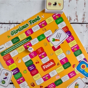 Glorious Food Game (12X12 Inches)