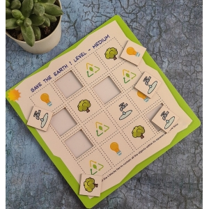 Save The Earth Sudoku Combo (10X10 Inches)