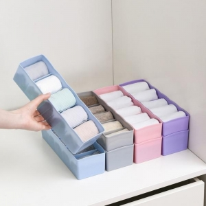 Generic Pack Of 3_Dividers Tray Organizer Clear Plastic Bead Storage Tray