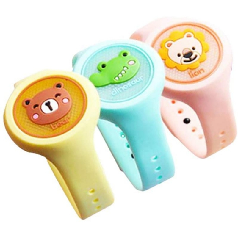 Generic Kids Safe Reusable Mosquito Repellent Bands With Essential Oil For Kids Children Cartoon Anti Mosquito Bracelet