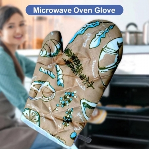Generic Pack Of 3_Heat Resistant Non-Slip Oven Mitts_Gloves_1Pc