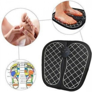 Generic Foot Massager Pad With Remote Control Feet Muscle Stimulator Improve Blood Circulation Relieve Ache Pain Vibrator Machine