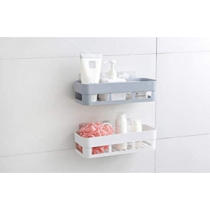 Generic Bathroom Shelf No Drill Easy To Installeted Removable Reusable