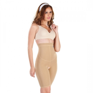 Dermawear Women's Hip Corset Hips And Thighs Shapewear (Model: Hip Corset, Color:Skin, Material: 4D Stretch)
