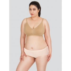 Dermawear Women's Ally Plus Support Bust Shaper Brassiere (Model: Ally Plus, Color:Skin, Material: 4D Stretch)