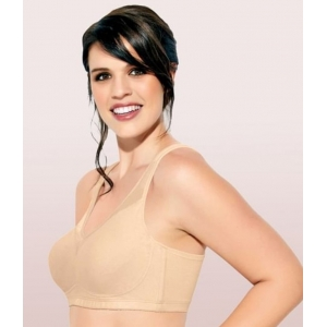 Enamor Women'S Smooth Super Lift Classic Full Support Brassiere (Model: A112, Color: PaleSkin, Material: Cotton)
