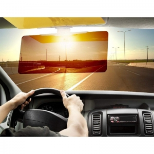 Generic HD Vision Visor for Day Night Driving with Eye Protector (Color: Assorted)