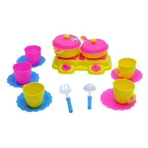 15 Pcs_Set Of Cooking Masti For Kids (Color: Assorted)