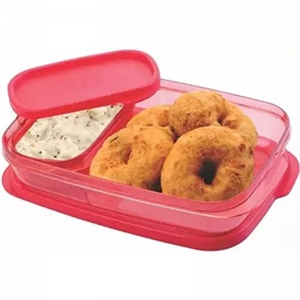 Generic Pack Of_2 Leak Proof And Microwave Safe Lunch Box (Color: Assoted) (Color: Assorted)