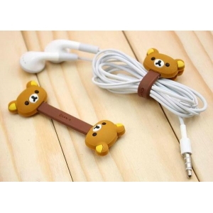 Generic Cartoon Cable Holder (Color: Assorted)