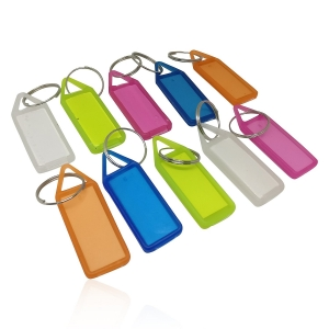 Generic Pack Of 35_Plain Label Key Chain  (Color: Assorted)