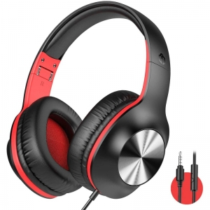 Generic Wired Over The Ear Headset With Mic (Color: Assorted)