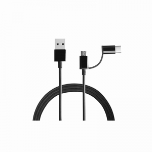 Generic 2_In_1 Usb Cable (Micro Usb To Type_C (Color: Assorted)